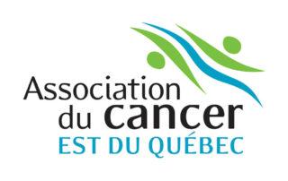 Logo de l'Association du cancer, Est du Québec