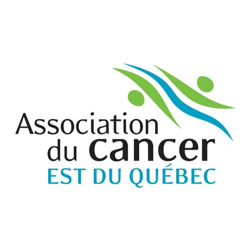 Logo de l'Association du cancer · Est du Québec