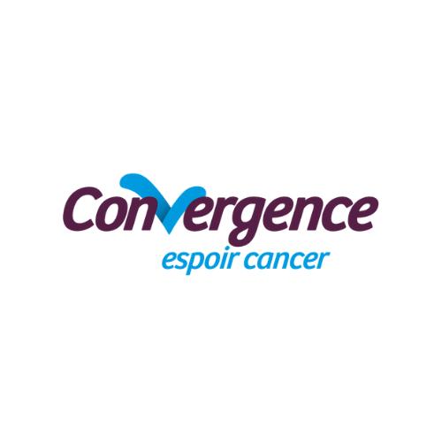 Logo de Convergence Espoir Cancer