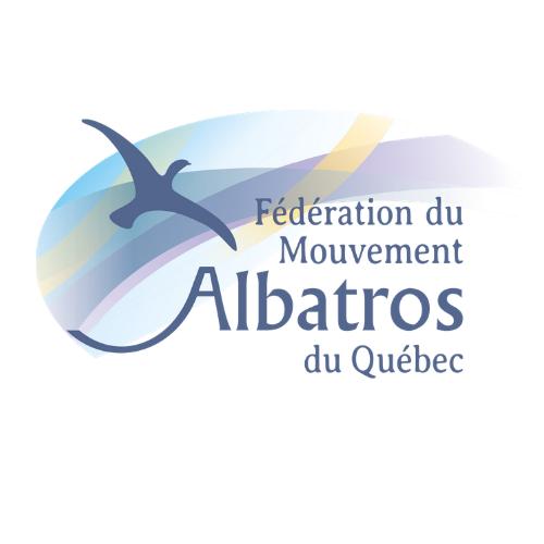 Logo de la Fondation du Mouvement Albatros du Québec