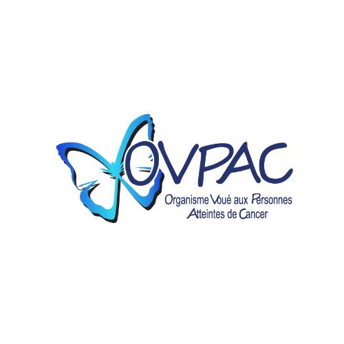 Logo de l'OVPAC, organisme voué aux personnes atteintes de cancer