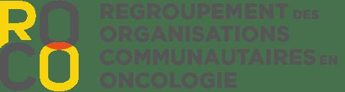 Logo du Regroupement des organisations communautaires en oncologie